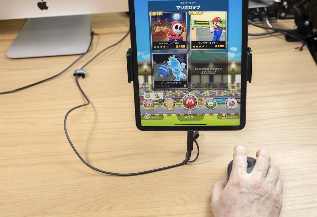 マリオカートツアー(iPad版)マウス操作